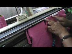 TRICÔ A MÁQUINA, DECOTE REDONDO (2/3) - YouTube