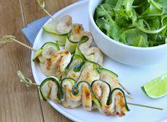 #yakitori citron vert et miel #DanOn #recette