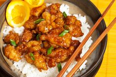 Restaurant Style Asian Orange Chicken