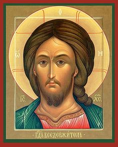 Eastern Christian Supply — Icon of Christ the Pantocrator Byzantine Icons, Byzantine Art, Religious Images, Religious Icons, Christ Pantocrator, Greek Icons, Paint Icon, Jesus Face, Religious Paintings