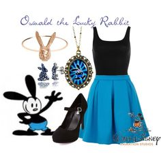 Oswald the Lucky Rabbit - Polyvore