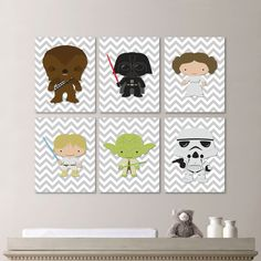 Star Wars Nursery Art Nursery Print by RhondavousDesigns2, $40.00