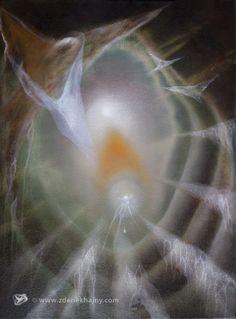 Daidalos XXI, 2011, olej, 80 x 60 - ZDENĚK HAJNÝ - Galerie Cesty ke světlu