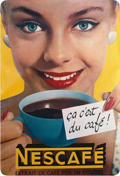 Vintage Nestlé ad - Nous, les enfants de 1960…