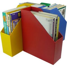 Vertical file storage for classrooms