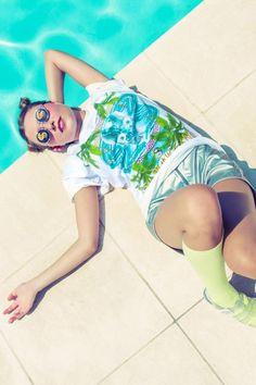 """New SEA PUNK GANG t-shirt SKULLS"""""""