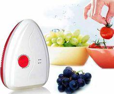 휴대용 활성 오존 발생기 살균기 공기 청정기 정화 과일 야채 물 음식 준비 ozonator ionizator