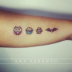 """Fofurinha do dia! ❤️❤️❤️❤️ Tatuagem feita por <a href=""""http://instagram.com/abrahaoana"""">@abrahaoana</a> Ana Abrahão Tattoo Artist. Brasília, Brasil. Agenda aberta para Outubro AnaAbrahaoink@gmail.com http://www.facebook.com/AnaAbrahaoInk"""