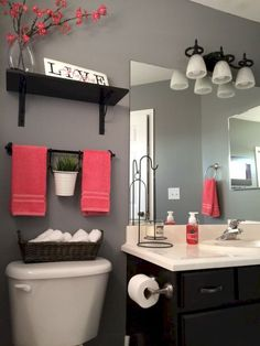 Ideas To Decorate A Small Bathroom With Colour.ideas To Decorate A Small  Bathroom With Colour.