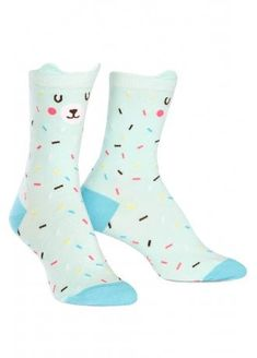 493316ca65a Sock It To Me Bearly Sprinkled Socks