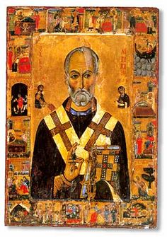 St Nicholas icon, Mount Sinai, Monastery of St. Catherine.