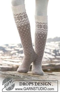 I'm now starting a new project. These would be my first pair of knitted fair isle socks with a Norwegian pattern and cables. I'm now starting a new project. These would be my first pair of knitted fair isle socks with a Norwegian pattern and cables. Baby Patterns, Knitting Patterns Free, Free Knitting, Knitting Socks, Baby Knitting, Free Pattern, Drops Design, Knitting For Kids, Knitting Projects