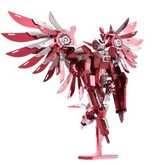 Fashion Limited Edition 3D Metal Puzzle Thundering Wings Toy Robot Model Jigsaw #Unbranded