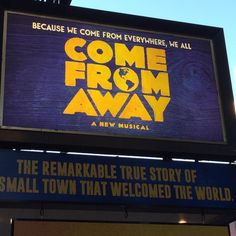 #come From Away