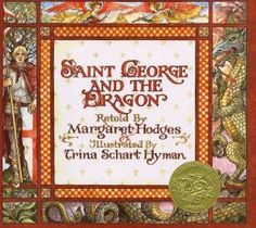 Retells the segment from Spenser's The Faerie Queene, in which George, the Red Cross Knight, slays the dreadful dragon that has been terrorizing the countryside for years and brings peace and joy to the land.