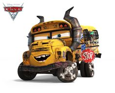 Disney Pixar Cars 3 Miss Fritter Disney Pixar Cars, Art Disney, Disney Wiki, Cars 3 Poster, Cars 3 Trailer, Mcqueen Cars 3, Cars 3 Characters, Film Cars, Demolition Derby