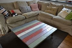 diy coffee table / salontafel by Linda van Deursen