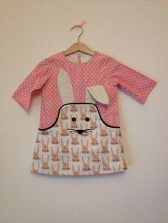 Compagnie M. Louisa dress Easter version bunny - Hasenkleid