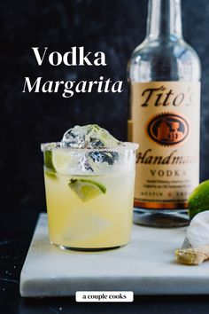 This Vodka Margarita is tangy and delicious: a smooth spin on the classic cocktail! It's a fun variation that's oddly satisfying. | alcoholic drinks | drinks | cocktails | vodka cocktails | mexican drinks | margarita recipes | cointreau cocktail | triple sec drinks | orange juice cocktails | summer cocktails | #vodka #vodkamargarita #margaritawithvodka #vodkamargaritarecipe #margaritarecipe Best Vodka Cocktails, Cointreau Cocktails, Orange Juice Cocktails, Vodka Mixed Drinks, The Best Vodka, Champagne Drinks, Blended Drinks, Best Cocktail Recipes, Vodka Drinks
