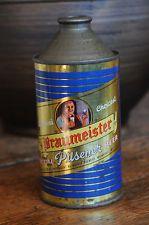 Braumeister Beer Cone Top Beer Can, Very nice!!