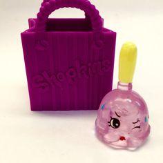 NEW Shopkins Season 2 Ultra Rare Crystal Glitz PETA PLUNGER #2-094 Shopkin + Bag #Shopkins