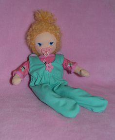 Waldorf Babypuppe *Mina* 25 cm Magnetschnuller made by Regenbogenmae♥