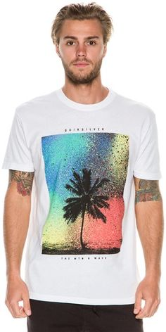 QUIKSILVER SPRAY PALM SS TEE Image