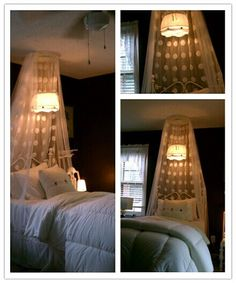 38 lights hanging from curtains ideas