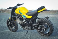Go look at a number of my favourite builds - tailor made scrambler motorcycles like this Custom Motorcycles, Custom Bikes, Cars And Motorcycles, Suzuki Sv 650, Suzuki Bikes, Cafe Racer Motorcycle, Moto Style, Honda Cb, Go Kart