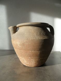 merovingian vessel merovingien merovingienne vase 6 century very rare frankish