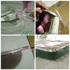 Homemade Cardboards for Cakes / Círculos de Cartón Para Bizcochos