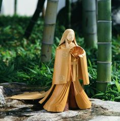Village of bamboo doll gallery Echizen bamboo dolls