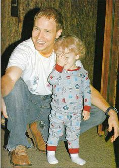 brian littrell - baylee littrell - bsb - backstreet boys  aww :)