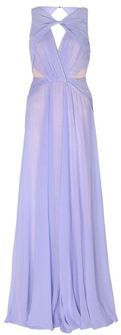 THEN AND NOW   Badgley Mischka   Pastel Silk Gown