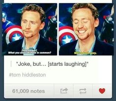 Loki & Tom Hiddleston ~ Both Sexy