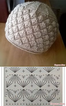 CROCHET PATTERN No. The Abby crochet beret pattern (Toddler, Child and Adult sizes) PDF pattern hat, spring beret pattern, pattern hat Crochet Beret Pattern, Bonnet Crochet, Crochet Baby Hat Patterns, Crochet Diy, Crochet Baby Hats, Crochet Chart, Crochet Beanie, Crochet Motif, Crochet Stitches