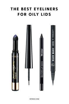 The best eyeliner for oily lids