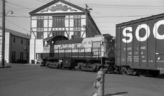 CP#6573 working on Store Street, Victoria, BC by R R Horne, via Flickr......in front of Capital Iron Building