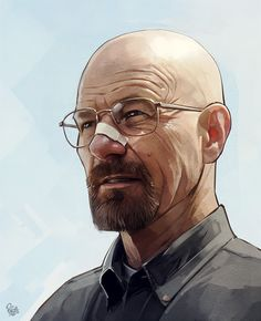 Breaking Bad - Digital art selected for the Daily Inspiration #1353