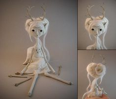 """""""The Ghost of Deer Frida"""" by Evelyn Santiago"""