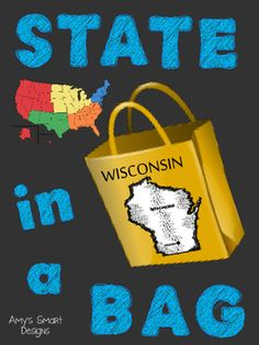 This State in a Bag project helps your students develop research and… Social Studies Projects, 3rd Grade Social Studies, Social Studies Classroom, Social Studies Activities, Teaching Social Studies, History Activities, States And Capitals, Presentation Skills, Study History