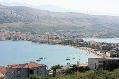 view on Pag, Croatia