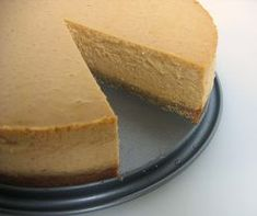 Pumpkin cheesecake. I get asked for this recipe every Thanksgiving. I modified the crust to use 1.5c. nilla wafers with 1.5 c. graham crackers.