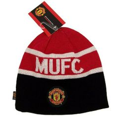0ee094637f5 MANCHESTER UNITED SOCCER REVERSIBLE BEANIE KNIT HAT CAP by Manchester  United. Save 35 Off!.  13.62. Officially licensed by the Soccer.