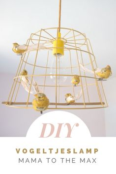 Vogeltjes lamp DIY ⋆ MAMA to the maxMAMA to the max