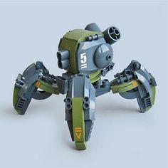 Giiruu VT5 - Assault Runner   by Fredoichi Robot Lego, Lego Bots, Lego Spaceship, Arte Robot, Legos, Cuadros Star Wars, Lego Machines, Lego Army, Lego Ship
