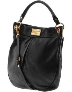 6b386c6199c0fe Mark by Marc Jacobs Classic Q Hillier hobo shoulder bag in Bordeaux leather.  I kinda like - pretiffy