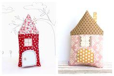 Cojines artesanales para niños, selección de cojines hechos a mano http://www.minimoda.es