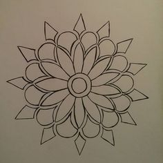 Made the line art now to fill it up, I also tried making digital mandalas but i first need to clean it up before I can show it  #art #mandala #mandalaart #finliner #blackandwhite #doodle #zentangle #zentanglesart #mandalas #lineart