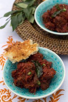 Tamatar Gosht, Pakistani slow cooked tomato & lamb stew with aromatic spices